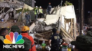 At Least 20 Children Killed In Mexico City School Collapse | NBC News - NBCNEWS