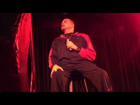 Sinbad live FULL SHOW - South Orange County, CA  (front row)