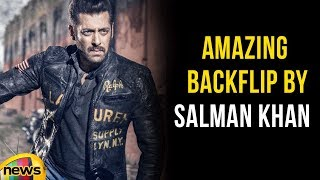 Actor Salman Khan Amazing Attempt Of Backflip In Bharat Movie | Mango News - MANGONEWS