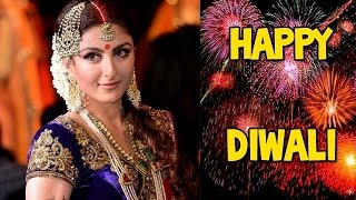 Soha Ali Khan celebrates Diwali! - EXCLUSIVE