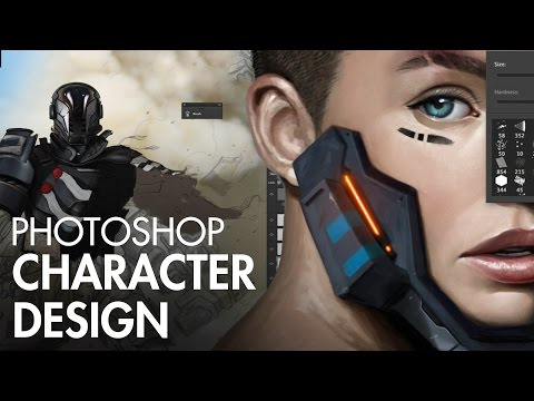 Photoshop Character Design PREVIEW
