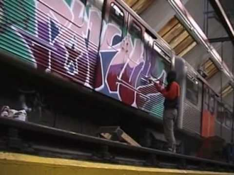 Graffiti Hamburg Barmbek Subway Garage breakin