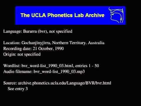 Burarra audio: bvr_word-list_1990_03