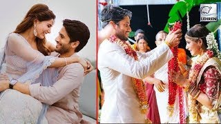 Samantha Ruth Prabhu and Naga Chaitanya's WEDDING PICS YT Swapnil - LEHRENTELUGU