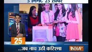 5 Minute 25 Khabarein - 8/3/14 6 AM - INDIATV