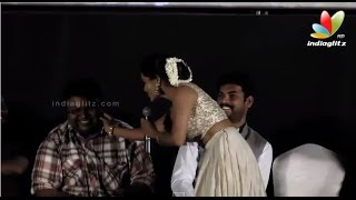 OH SO CUTE! Priya Anand Pinches D Imman's Cheeks! | Oru Oorla Rendu Raja Audio Launch