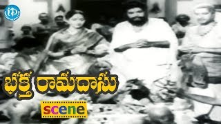 Bhakta Ramadasu Movie Scenes - Panthulu Complains About Ramadasu To ThanishaPrabhu || ANR, NTR - IDREAMMOVIES