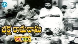 Bhakta Ramadasu Movie Scenes - Panthulu Complains About Ramadasu To ThanishaPrabhu || ANR, NTR - IDREAMMOVIES