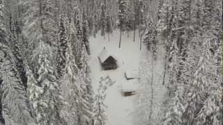 Hexakopter XL and GoPro 3 over Ninko Cabin