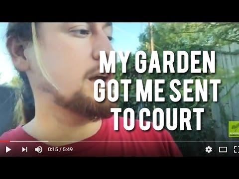 My Garden Got Me Sent To Court!