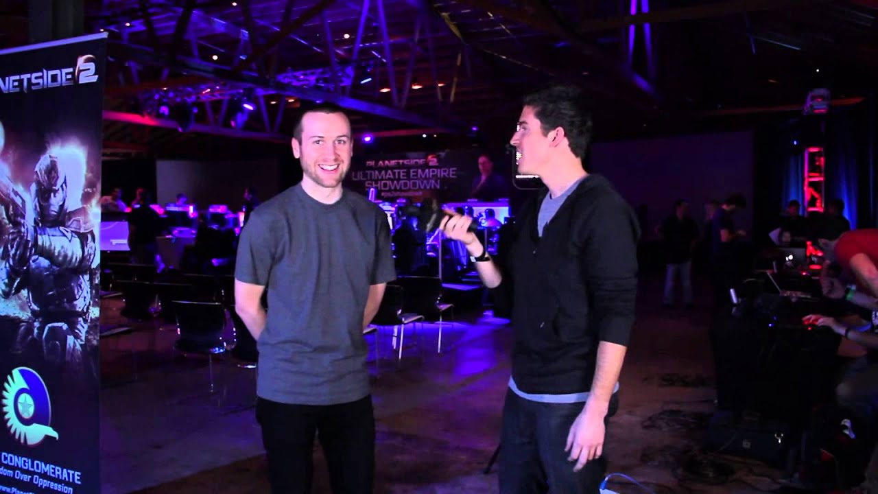 PlanetSide 2 Ultimate Empire Showdown - SeaNanners Interview