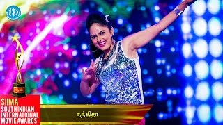 Nandita Dazzling Dance Performance || SIIMA 2014 Awards - IDREAMMOVIES
