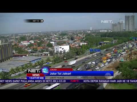 Libur Akhir Pekan Jalur Jakarta Cikampek Aman Lancar - NET12