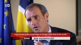 "Europol chief on terrorism: ""Internet more dangerous than Schengen"" | Conflict Zone - DEUTSCHEWELLEENGLISH"