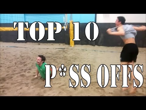 Top 10 P*ss Offs in Beach Volleyball