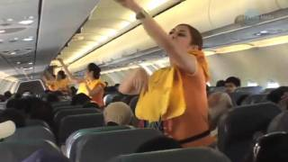 Cebu Pacific dancing flight attendants – All I Want For Christmas Is You