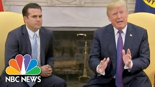 Trump Gives White House A '10' For Puerto Rico Response | NBC News - NBCNEWS