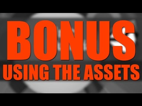 Bonus, Using the Assets! Unity Tutorial - Create a Survival Game