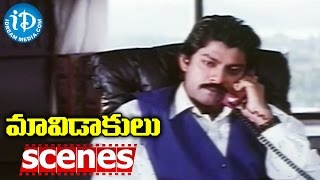 Maavidakulu Movie Scenes - Jagapati Babu Worries About Rachana || EVV Satyanarayana - IDREAMMOVIES