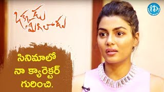 Anisha Ambrose About Her Character In Okkadu Migiladu Movie || Talking Movies With iDream - IDREAMMOVIES