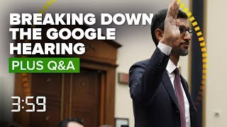 We break down Google CEO Sundar Pichai's big DC showdown (The 3:59, Ep. 502) - CNETTV