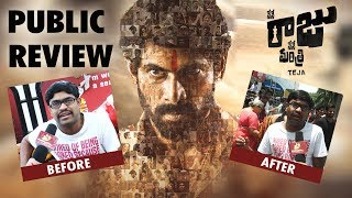 Nene Raju Nene Mantri Public Talk before and after show || Rana Daggubati || #NeneRajuNeneManthri - IGTELUGU