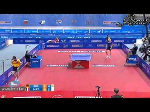 2011 ETTC (ms-qf)  BOLL Timo - MATTENET Adrien [Full Match|Short Form]