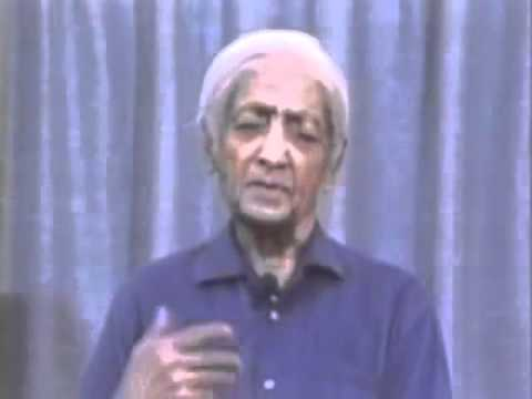 Krishnamurti - Brockwood Park 1984 - Italiano Talk 1