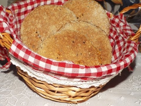 Brown bread homemade/moroccan bread without kneading