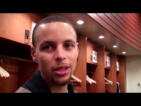Stephen Curry on support from Warriors fans