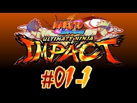 Naruto Shippuden: Ultimate Ninja Impact - PSP - #01-1. Kazekage Rescue - Akatsuki, The Beginning