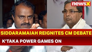Siddaramaiah claims to become Chief Minister if Voted back to Power; HD Kumaraswamy on why he cries - NEWSXLIVE