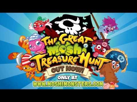 Moshi Monsters - The Great Moshi Treasure Hunt - Out Now