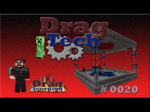 Let's Play - Minecraft DragTech - Part #0020 (Stylische Erleuchtung)