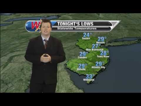 Saturday, January 24th Evening Forecast