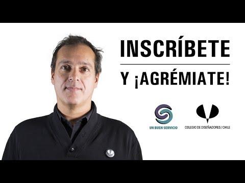 ¡Diseñador Inscríbete en el Colegio de Diseñadores Profesionales de Chile!
