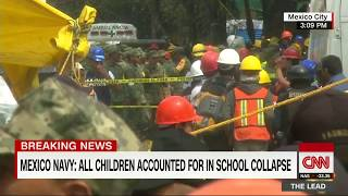 Mexico earthquake: All kids accounted for in collapsed school - CNN