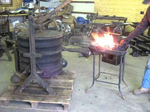 BLACKSMITH FORGE BELLOWS MADE BY ALLDAYS & ONIONS