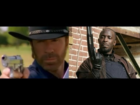 Walker Texas Ranger and Omar Little Intercept the Terrorist's Wire at the Skrilla Villa Row House