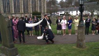 بالفيديو والصور.. أجواء أسطورية في زفاف نجم التنس البريطاني «أندي موراي»
