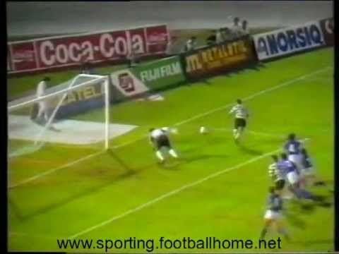 Sporting - 1 Belenenses - 0 de 1990/1991