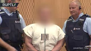 New Zealand shooter appears in Christchurch court - RUSSIATODAY