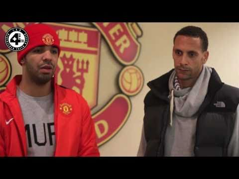 Drake meets Rio Ferdinand to talk music & sport [4nB.co.uk]