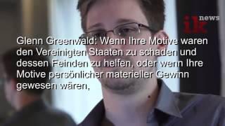 NSA Prism Whistleblower Edward Snowden Interview Hong Kong Deutsch 06.07.2013