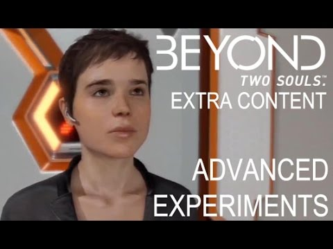 Beyond Two Souls Part 10 DLC - Advanced Experiments | Too Much Gaming