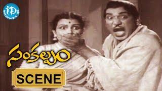 Sankalpam Movie Scenes - Relangi And Suguna Comedy    NTR    Relangi    Ramana Reddy - IDREAMMOVIES