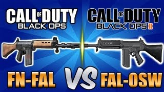 """BO FAL"" vs ""BO2 FAL"" - Single Shot Showdown! (Black Ops 2 / Black Ops Guns) Call of Duty"
