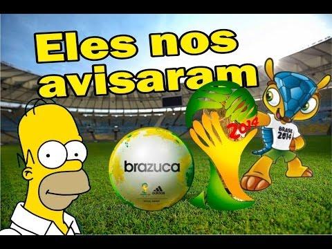 Eles nos avisaram, derrota do Brasil já era prevista, mensagens subliminar na copa