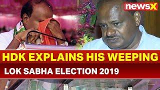 Siddaramaiah Puts HD Kumaraswamy on Notice; Poll Result to Decide HDK's Fate? | Lok Sabha Polls 2019 - NEWSXLIVE