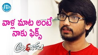 I Obey His Orders - Raj Tarun || #Andagadu || Talking Movies With iDream - IDREAMMOVIES